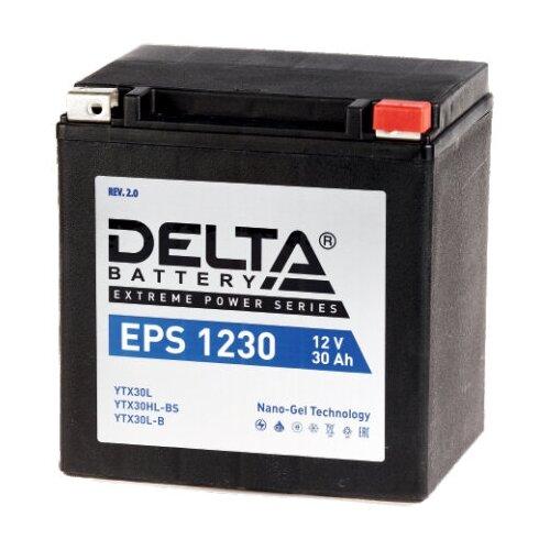 Мото аккумулятор DELTA Battery EPS 1230 (YTX30L / YTX30HL-BS / YTX30L-B)