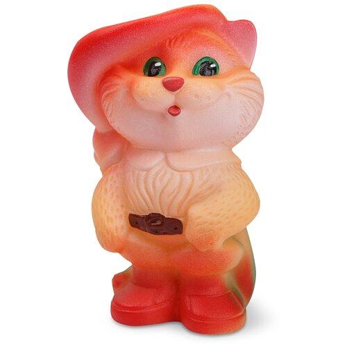 Фото - Игрушка для ванной ОГОНЁК Кот в сапогах (С-432) оранжевый игрушка для ванной огонёк лев бонифаций с 644 оранжевый
