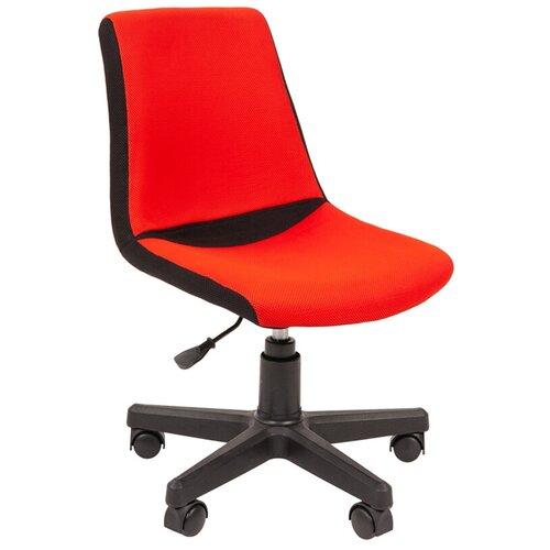 Фото - Компьютерное кресло Chairman Kids 115 детское, обивка: текстиль, цвет: черный/красный компьютерное кресло chairman kids 101 детское обивка текстиль цвет монстры