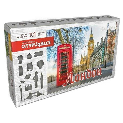 Фото - Пазл Нескучные игры Citypuzzles Лондон (8222), 101 дет. пазлы нескучные игры деревянный пазл citypuzzles лондон