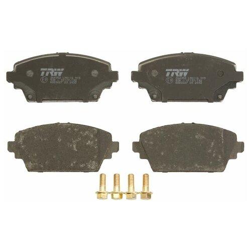 Дисковые тормозные колодки передние TRW GDB3227 для Nissan Almera Tino, Nissan Primera (4 шт.)