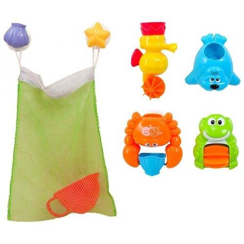 Купить Набор для ванной PlayGo Друзья (Play 1915) разноцветный, Игрушки для ванной
