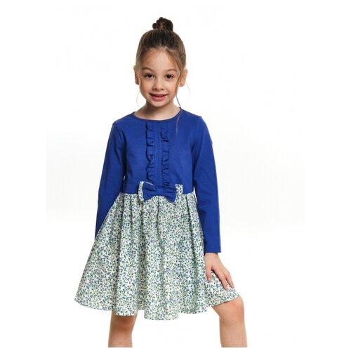 Платье Mini Maxi, 6113, цвет голубой, размер 104