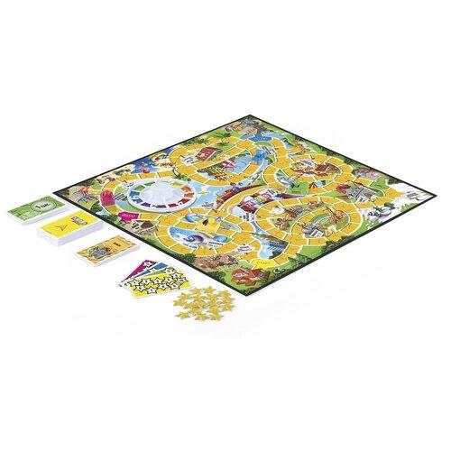 Фото - Настольная игра Hasbro Games, Игра в жизнь, Джуниор (E6678121) hasbro other games e3255 настольная игра пугливая рыбка