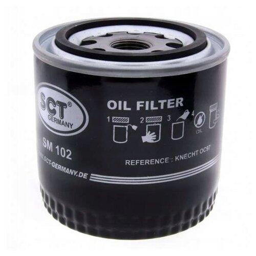 Масляный фильтр SCT SM 102 масляный фильтр sct sm 133