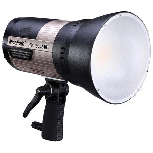 Фото - Осветитель NiceFoto HB-1000B II 5500K Bluetooth+2.4G receiver осветитель nicefoto tc 168 rgb