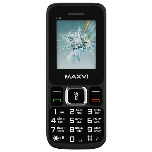 Телефон MAXVI C3i черный