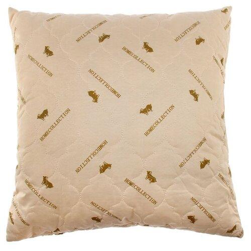 Подушка Адамас Сонечка, Овечья шерсть, 70*70 см, чехол полиэстер, сумка