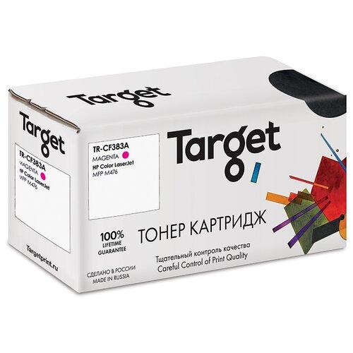 Фото - Тонер-картридж Target CF383A, пурпурный, для лазерного принтера, совместимый тонер картридж target cf543a пурпурный для лазерного принтера совместимый