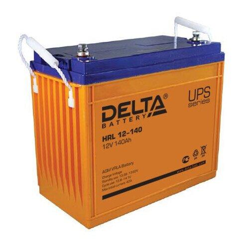 Фото - Аккумуляторная батарея DELTA Battery HRL 12-140 140 А·ч аккумуляторная батарея delta battery gel 12 33 33 а·ч