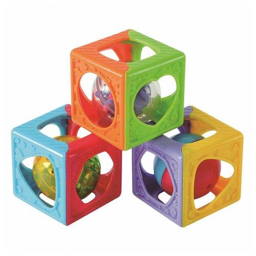 Кубики развивающие Playgo Play 1520 развивающие игрушки playgo цветовые эффекты