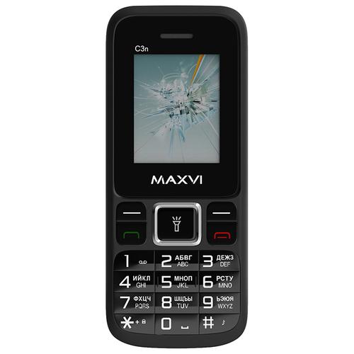 Телефон MAXVI C3n черный