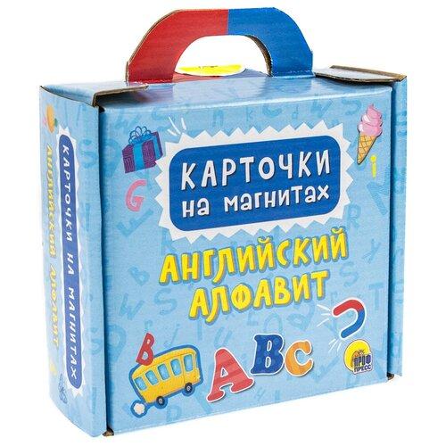 Набор карточек Проф-Пресс Карточки на магнитах. Английский алфавит 13.2x11.9 см 33 шт. недорого