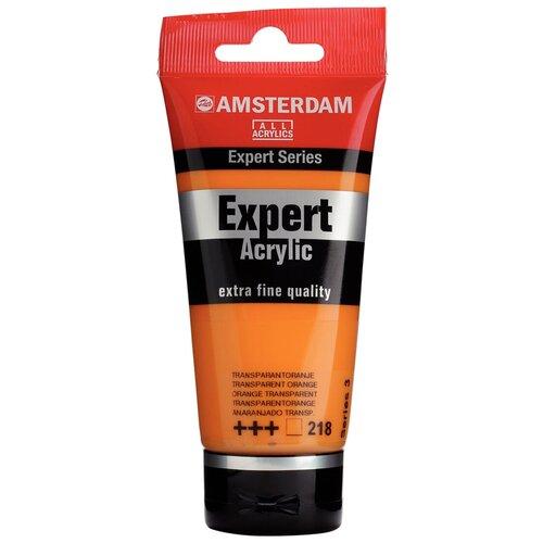 Фото - Royal Talens Краска акриловая Amsterdam Expert туба 75мл №218 Оранжевый прозрачный краска акриловая simply оранжевый туба 75мл