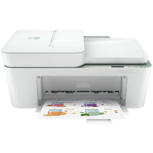 Фото - МФУ HP DeskJet Plus 4122, белый мфу hp deskjet plus ink advantage 6075 белый