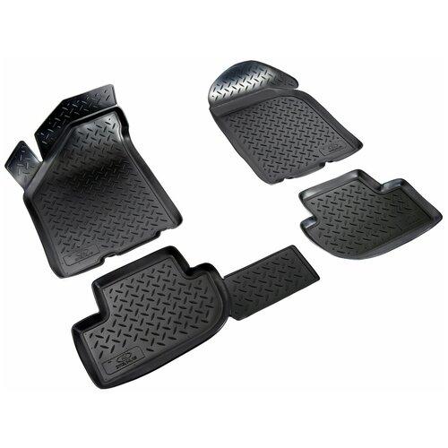 Комплект ковриков салона NorPlast NPL-Po-94-15 для LADA (ВАЗ) 2113, LADA (ВАЗ) 2114, LADA (ВАЗ) 2115 4 шт. черный