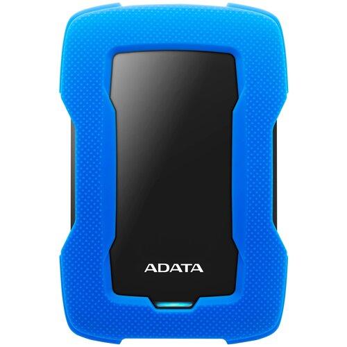 Фото - Внешний HDD ADATA HD330 1 TB, синий внешний ssd adata sd700 1 tb желтый