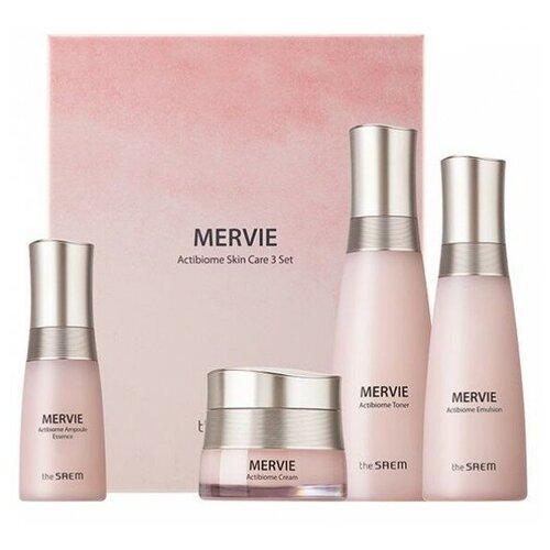 Набор средств для лица с пробиотиками The Saem Mervie Actibiome Skin Care 3 Set недорого