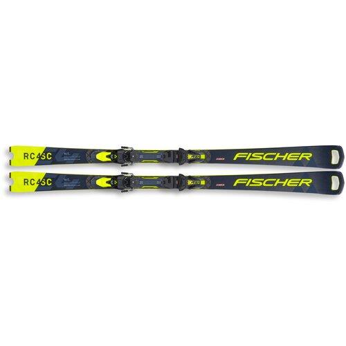 Горные лыжи с креплениями Fischer RC4 Wc Sc Mt (20/21), 165 см