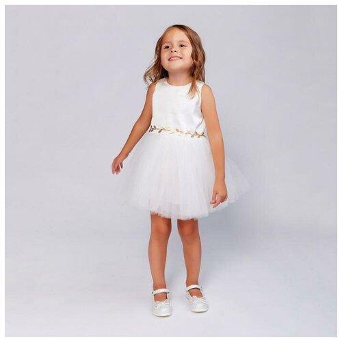 Платье Minaku размер 104, белый платье modis размер 104 белый