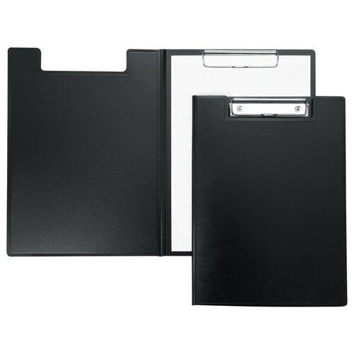 Berlingo Папка-планшет с зажимом А4, пластик черный