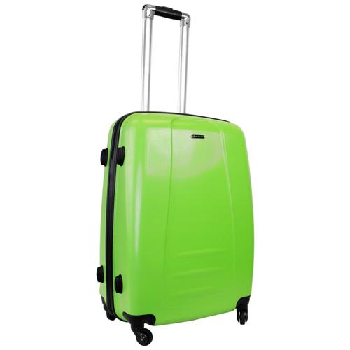 Чемодан Rion+ 418/3 62 л, зеленый чемодан rion 418 3 62 л голубой