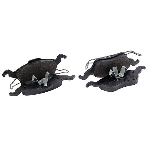 Дисковые тормозные колодки передние HONG SUNG BRAKE HP5120 для Ford Focus (4 шт.) дисковые тормозные колодки передние hong sung brake hp8153 для honda civic 4 шт