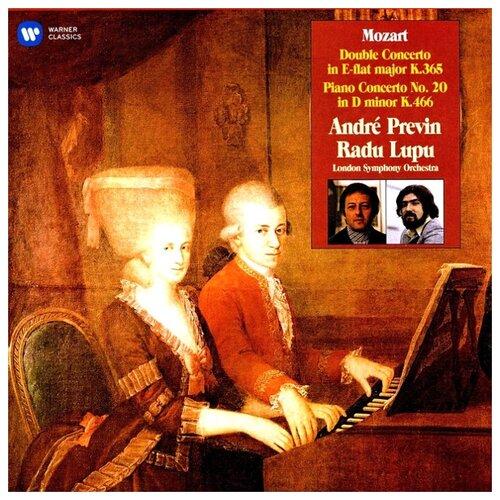 Radu Lupu, London Symphony Orchestra, Andre Previn. Mozart. Double Concerto, Piano Concerto No. 20