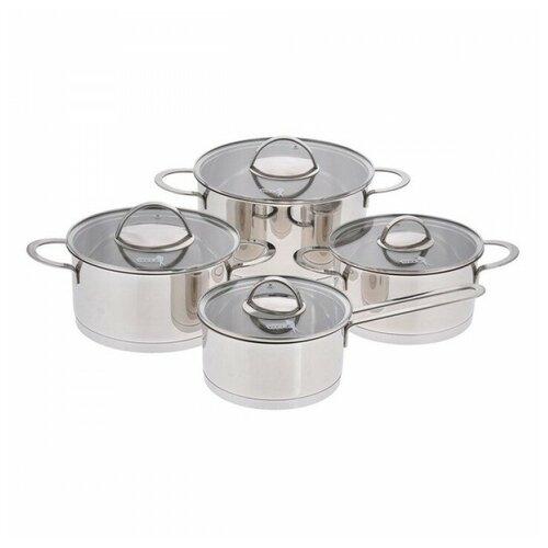 Фото - Набор посуды Augustin Welz AW-2200 8 пр. серебристый классический термос augustin