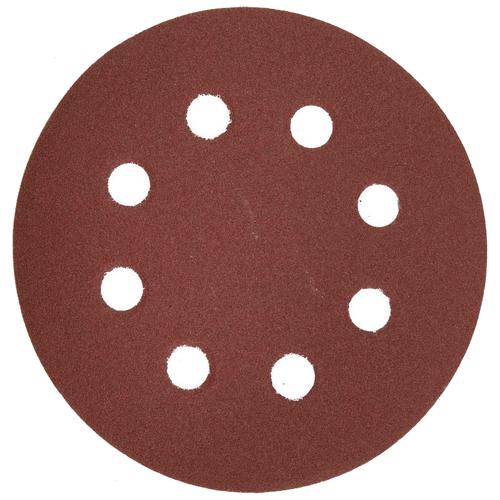 Фото - Шлифовальный круг на липучке ЗУБР 35562-125-180 125 мм 5 шт шлифовальный круг на липучке fit 39666 125 мм 5 шт