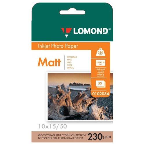 Фото - Бумага Lomond A6 Photo Paper 0102034 230 г/м² 50 лист., белый бумага lomond a6 0102082 230 г м2 500 лист