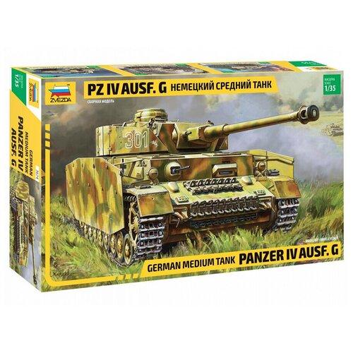 dragon 6581 1 35 stug iii ausf g 1943 production tank Сборная модель ZVEZDA Немецкий средний танк Pz IV Ausf. G (3674) 1:35