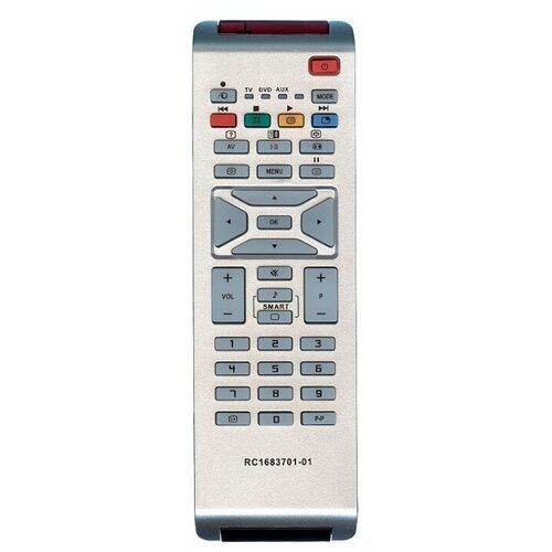 Фото - Пульт ДУ Huayu RC-1683701 для телевизоров Philips 32PFL5312, серый пульт ду huayu rc 19335019 01 для телевизоров philips 14pf6826 26pf8946 20pf8846 17pf8946 серый