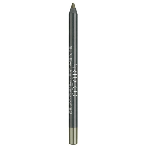 ARTDECO Водостойкий карандаш для век Soft Eye Liner Waterproof, оттенок 20 - bright olive