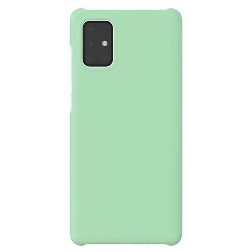 Чехол (клип-кейс) Samsung Galaxy A71 WITS Premium Hard Case мятный (GP-FPA715WSAMR) чехол клип кейс samsung galaxy a71 wits premium hard case черный gp fpa715wsabr