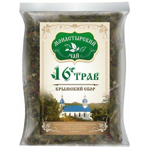 Чай травяной Крымский чай Монастырский № 27 Шестнадцать, 100 г