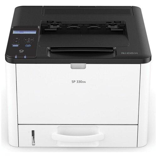 Фото - Принтер Ricoh SP 330DN, белый/черный принтер лазерный ricoh sp c261dnw