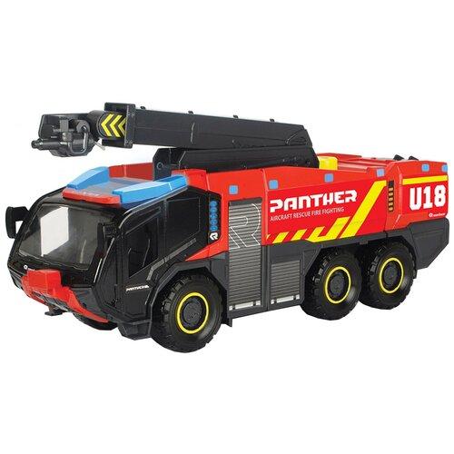 Фото - Пожарный автомобиль Dickie Toys Аэродромный (3719012), 62 см, красный гидроцикл dickie toys пожарный сэм джуно с фигуркой и аксессуарами 9251662 красный желтый