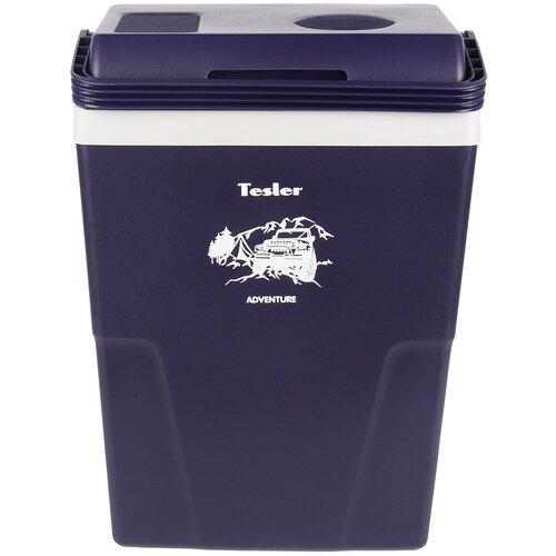 Автомобильный холодильник Tesler TCF-2212 черничный/серый