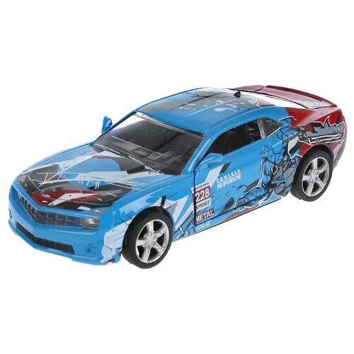 Купить Гоночная машина ТЕХНОПАРК Спорткар (298757) синий, Машинки и техника