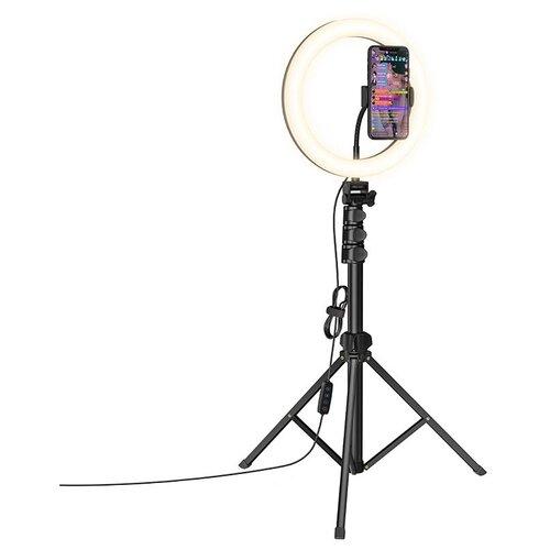 Фото - Hoco LV02 Aesthetic light Кольцевая лампа для БЬЮТИ съемок кольцевая лампа luazon aks 06 white 4090260