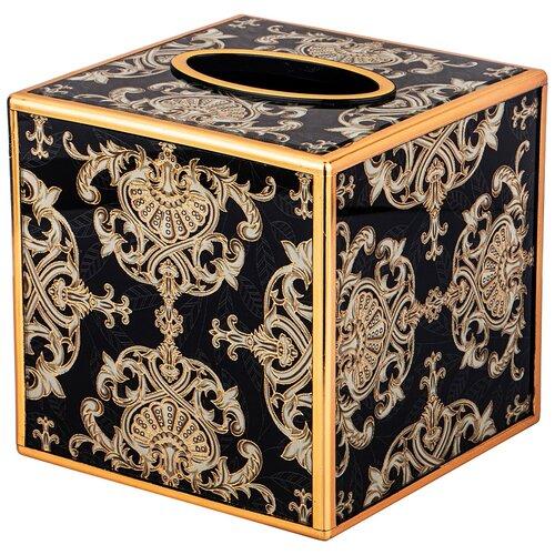 Бокс для салфеток Lefard Шкатулка для салфеток Тадж-Махал 108-165 черный
