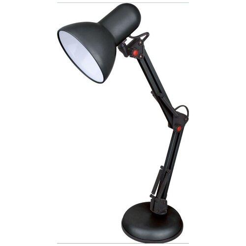настольная лампа светодиодная energy en led18 бело черная 5 вт Лампа Energy EN-DL28 настольная электрическая, 366056 черная
