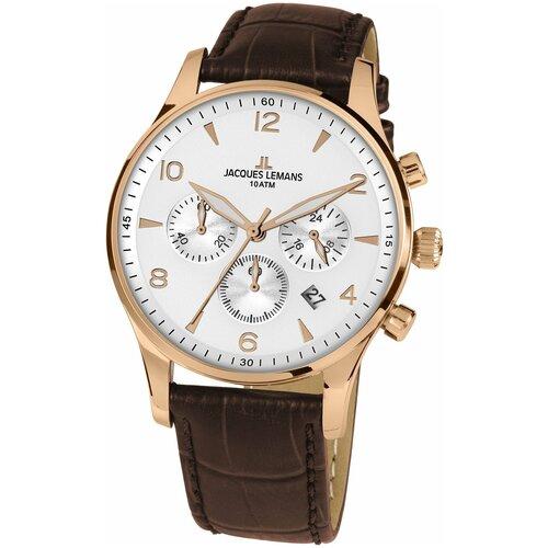 Фото - Наручные часы JACQUES LEMANS 1-1654ZL наручные часы jacques lemans 1 2068b