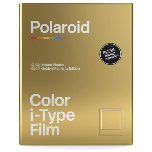 Фото - Картридж Polaroid Color Film Golden Moments Double Pack картридж polaroid duochrome film 600 black
