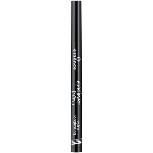 Essence Подводка для глаз стойкая Eyeliner Pen Extra Longlasting, оттенок 01 black подводка для глаз super fine eyeliner pen 1мл black