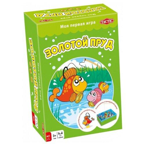 игра настольная развивающая для детей tactic коралловый риф Настольная игра TACTIC Золотой пруд