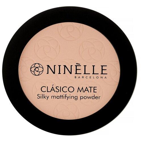 Ninelle Пудра компактная CLASICO MATE 202, розово-бежевый  - Купить
