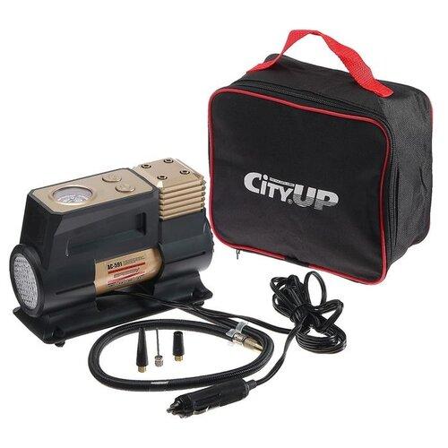 Компрессор автомобильный City-UP Speedy АС-591, 12 В, 180 Вт, 10 атм, 35 л/мин 5482507