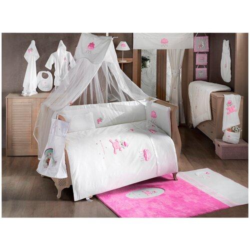 Купить Комплект Kidboo из 6 предметов серии Teddy Boo (Pink), Постельное белье и комплекты